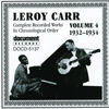 Couverture de l'album Leroy Carr Vol. 4 (1932-1934)