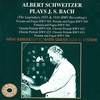 Couverture de l'album Albert Schwitzer Plays J.S. Bach - The Legendary 1935 & 1936 HMV Recordings