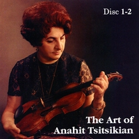 Couverture du titre The Art of Anahit Tsitsikian Disc 1 and 2