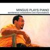Couverture de l'album Mingus Plays Piano