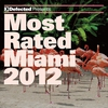 Cover of the album Defected Presents Most Rated Miami 2012