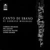 Cover of the album Canto di ebano (feat. Peo Alfonsi, Salvatore Maiore & Alfred Kramer)