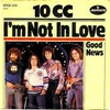 Cover of the track I'm not in love 75