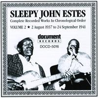 Cover of the track Sleepy John Estes Vol. 2 (1937 - 1941)