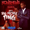 Couverture de l'album Big People Ting - Single