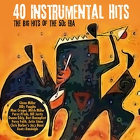 Cover of the track 40 Instrumental Hits - The Big Hits of the 50's Era