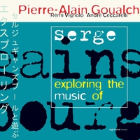 Cover of the track Exploring the Music of Serge Gainsbourg