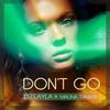 Couverture du titre Don't Go (feat. Malina Tanase)