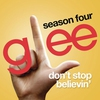 Cover of the track Don't Stop Believin' (Glee Cast) [feat. Lea Michele] [Rachel Solo Audition Version]