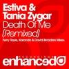 Couverture de l'album Death of Me (Remixed) - Single
