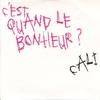 Cover of the track c'est quand le bonheur