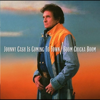 Cover of the track Johnny Cash Is Coming to Town / Boom Chicka Boom