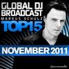 Couverture de l'album Global DJ Broadcast Top 15 - November 2011 - Including Classic Bonus Track