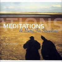 Couverture du titre Meditations & Poetry for Saxophone