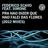 Cover of the album Pra Não Dizer Que Não Falei das Flores (2012 Mixes) [Remixes] [feat. Simone]