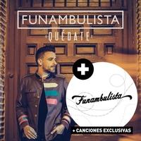 Cover of the track Quédate + Funambulista (Edición Especial)