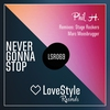 Cover of the album Never Gonna Stop - Single