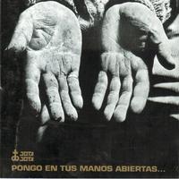 Cover of the track Pongo en tus manos abiertas…