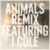 Cover of the track Animals (feat. J Cole)