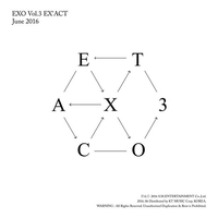Cover of the track EX'ACT - The 3rd Album