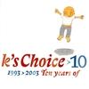Couverture de l'album 10: 1993-2003 - Ten Years of K's Choice