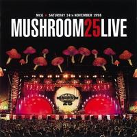 Couverture du titre Mushroom 25 Live