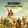 Cover of the track Hot Right Now