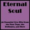 Couverture de l'album Eternal Soul: 50 Essential Live Hits from the Four Tops, the Delfonics, and More