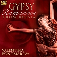 Cover of the track Gypsy Romances from Russia