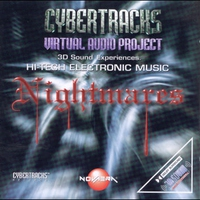 Cover of the track Cybertracks - Virtual Audio Project - Nightmares