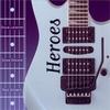 """Cover of the album Guitar Attitudes """"Heroes"""""""