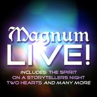 Couverture du titre Magnum - Live! (Live)