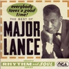 Cover of the album The Best of Major Lance: Everybody Loves a Good Time!
