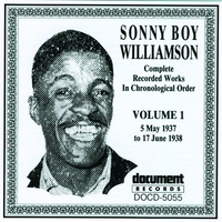Cover of the track Sonny Boy Williamson Vol. 1 (1937 - 1938)