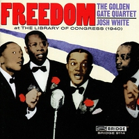 Cover of the track Freedom: The Golden Gate Quartet and Josh White