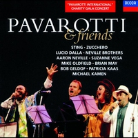Cover of the track Pavarotti & Friends