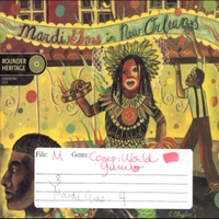 Cover of the track Rounder Heritage: Mardi Gras in New Orleans