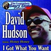 Cover of the album The Legendary Henry Stone Presents: David Hudson, Featuring Honey Honey, I Got What You Want