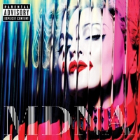 Cover of the track MDNA (Deluxe Version)
