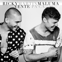 Cover of the track Vente Pa' Ca (feat. Maluma) - Single