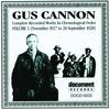 Couverture de l'album Gus Cannon, Vol. 1 (1927 - 1928)