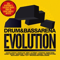 Cover of the track Drum & Bass Arena: Evolution
