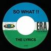 Couverture de l'album So What!! - Single