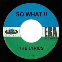 Couverture du titre So What!! - Single