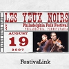 Cover of the album FestivaLink presents Lex Yeux Noirs at Philadelphia Folk Festival 8/19/07