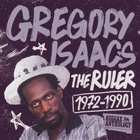 Cover of the track Reggae Anthology: Gregory Isaacs - The Ruler (1972-1990)