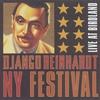Cover of the album Django Reinhardt NY Festival: Live at Birdland