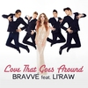 Cover of the track Love That Goes Around (feat. Li'Raw)