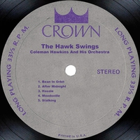 Cover of the track The Hawk Swings
