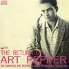 Cover of the album The Return of Art Pepper: The Complete Aladdin, Volume 1